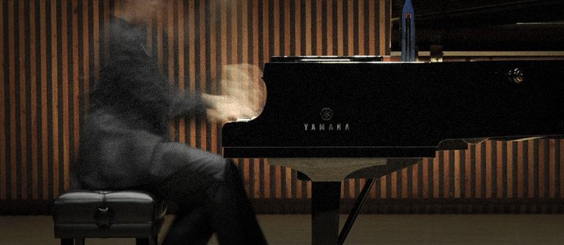 ピアノアカデミー ホールでのレッスン 演奏風景
