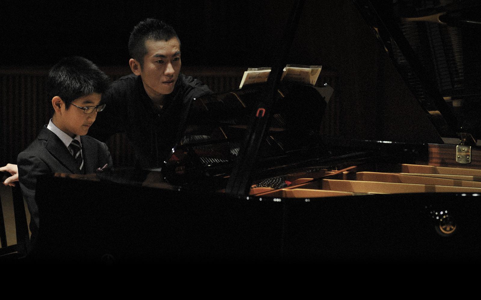 笠原智廣ピアノアカアデミー 前橋ピアノ教室 練習風景